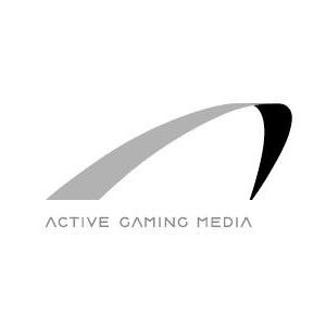 株式会社アクティブゲーミングメディア・ロゴ