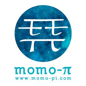 Momo-π studio・ロゴ