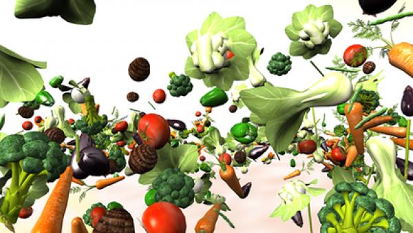 野菜CG制作